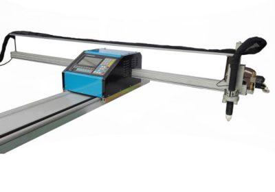 محمولة cnc لهب / آلة قطع البلازما الصلب 8mm cnc آلة قطع معدنية للنحاس النحاس