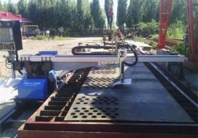 1500 * 3000mm 100A المحمولة الفولاذ المقاوم للصدأ التصنيع باستخدام الحاسب الآلي آلة قطع البلازما