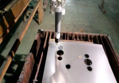 شهادة دائمة لهب التصنيع باستخدام الحاسب الآلي / البلازما آلة قطع تعمل بسهولة الاستقرار المحمولة آلة قطع البلازما
