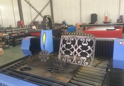 حار بيع الجدول نوع آلة البلازما CNC آلة القطع